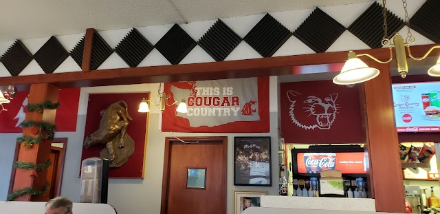 Cougar Country Drive In banner backdrop