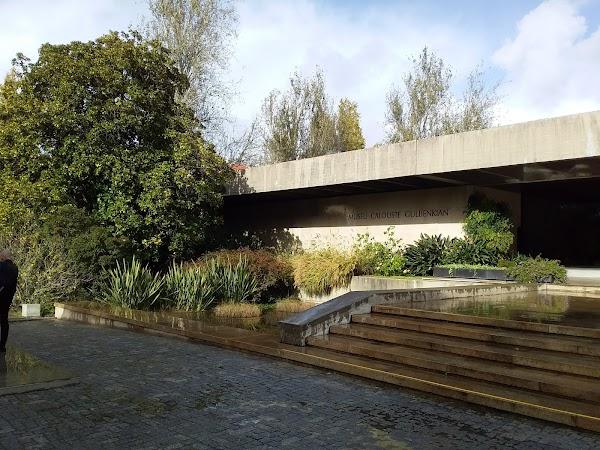Popular tourist site Museu Calouste Gulbenkian in Lisbon