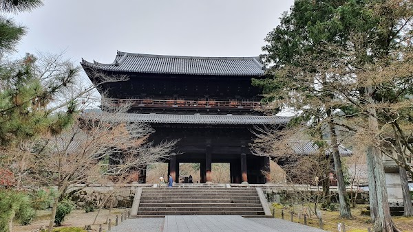 Popular tourist site Nanzen-ji Temple in Kyoto