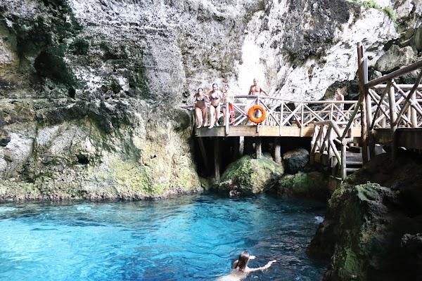 Popular tourist site Scape Park in Punta Cana