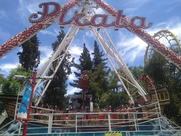 Popular tourist site Fantasilandia in Santiago
