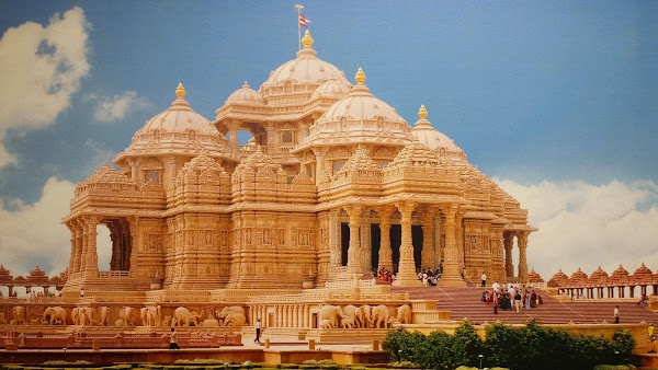 Popular tourist site Akshardham in New Delhi