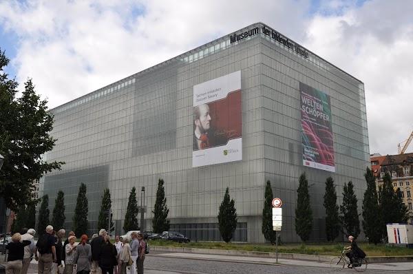 Popular tourist site Museum of fine arts in Leipzig
