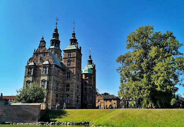 Popular tourist site The King's Garden in Copenhagen