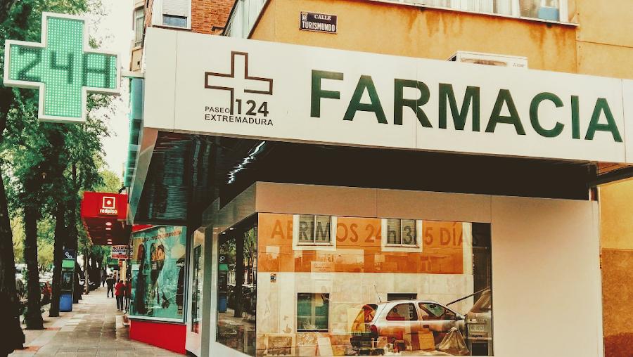 Foto farmacia Farmacia paseo de extremadura 124