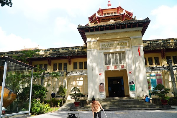 Popular tourist site Vietnam History Museum in Ho Chi Minh City