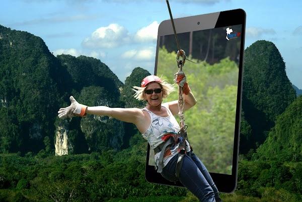 Popular tourist site THAI'D UP ADVENTURES in Krabi