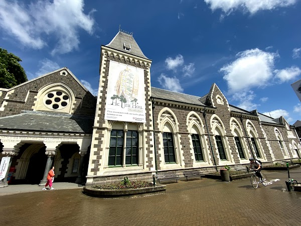 Popular tourist site Canterbury Museum in Christchurch