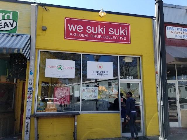 We Suki Suki A Global Grub Collective banner backdrop