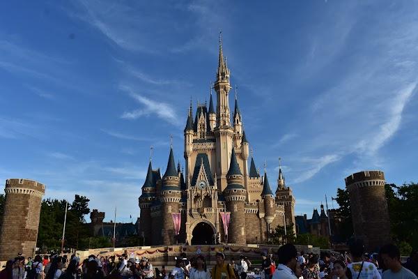 Popular tourist site Tokyo Disney Resort in Tokyo