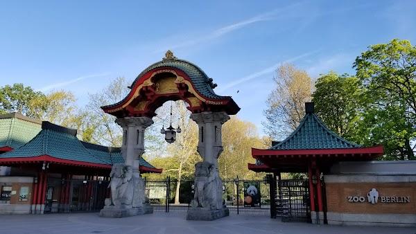Popular tourist site Zoo Berlin in Berlin