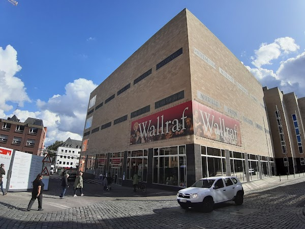 Popular tourist site Wallraf-Richartz Museum in Cologne