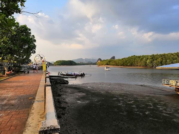 Popular tourist site Chaofah Park in Krabi