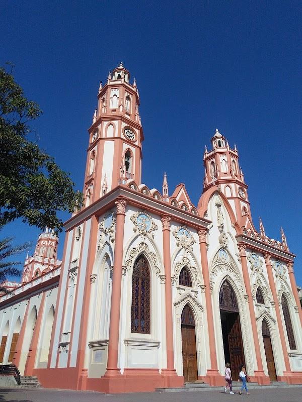 Popular tourist site Plaza De San Nicolas in Barranquilla