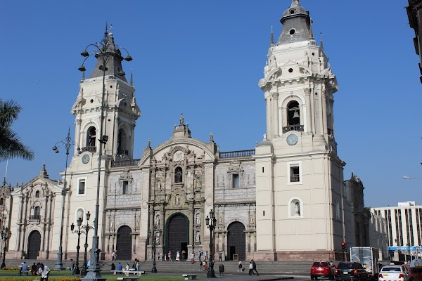 Popular tourist site Cathedral of Lima in Lima