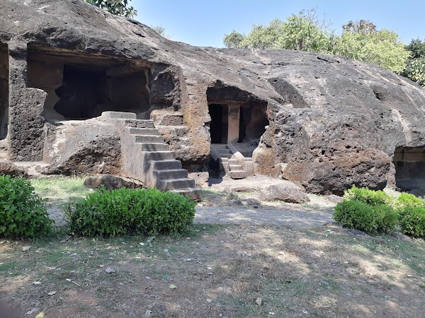 Popular tourist site Mahakali Caves in Mumbai