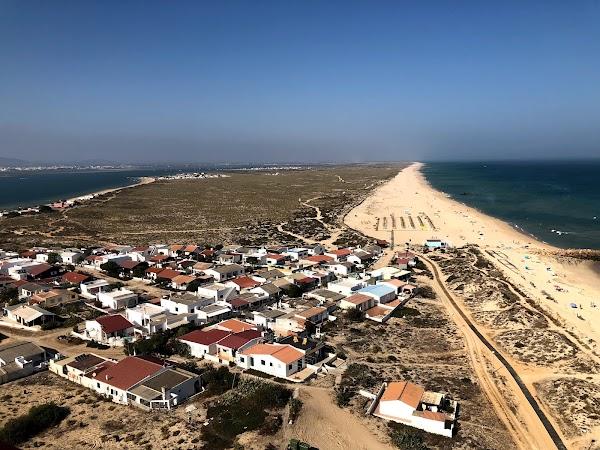 Popular tourist site Ilha do Farol in Algarve