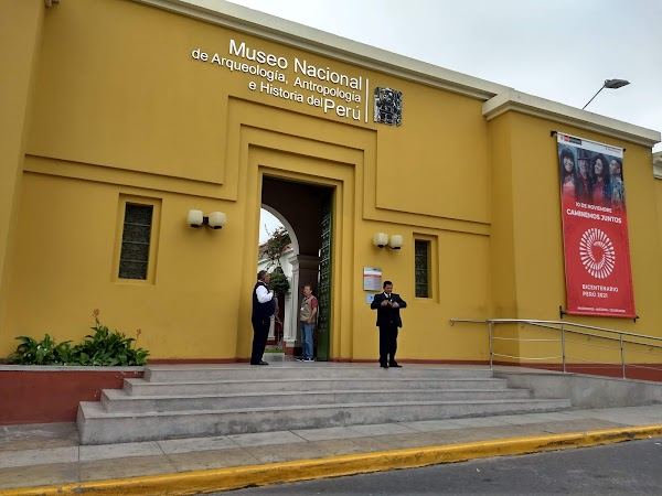 Popular tourist site National Museum of the Archaeology, Anth in Lima