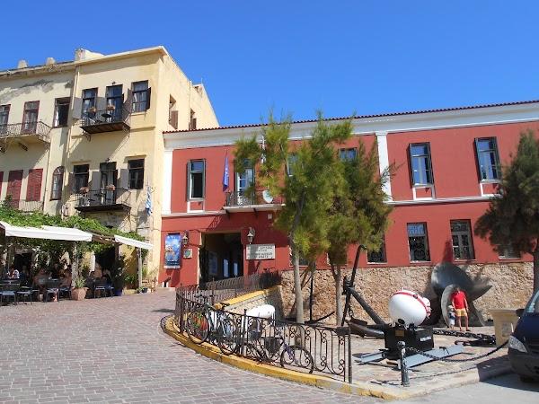 Popular tourist site Maritime Museum of Crete in Chania