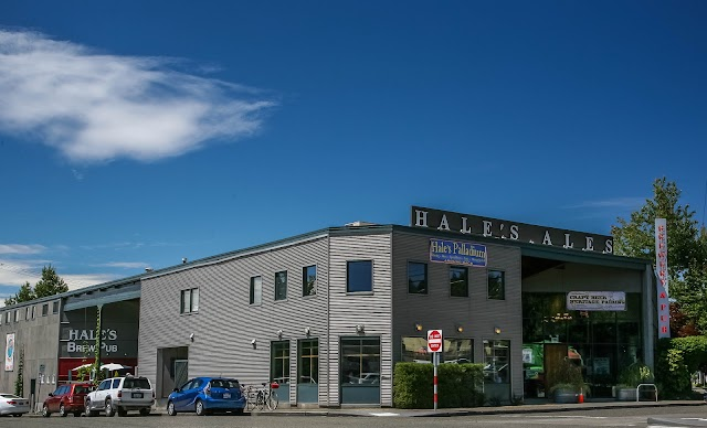 Hale's Brewery banner backdrop