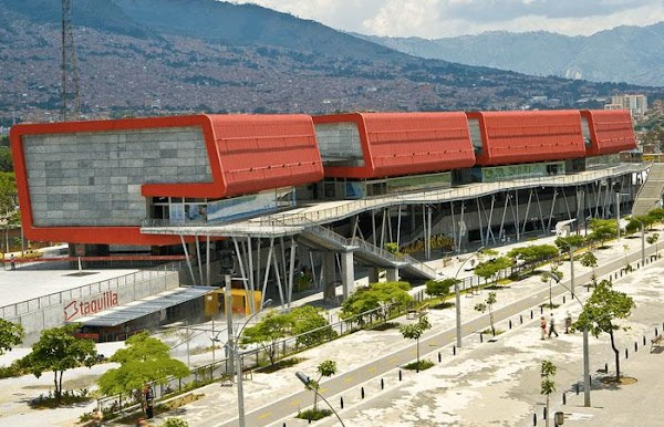 Popular tourist site Explora Park in Medellin