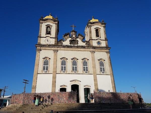 Popular tourist site Basílica do Senhor do Bonfim in Salvador