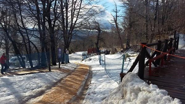 Popular tourist site Centro de Ski Nórdico in Bariloche