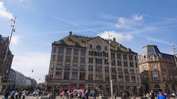 Popular tourist site Madame Tussauds Amsterdam in Amsterdam