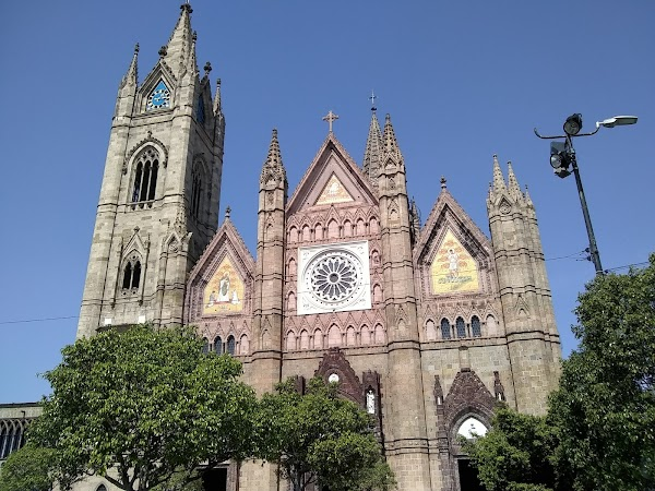 Popular tourist site Templo Expiatorio del Santísimo Sacramen in Guadalajara
