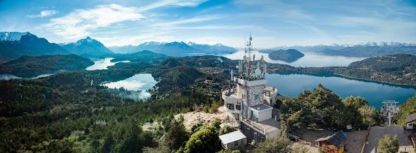 Popular tourist site Cerro Campanario chairlift in Bariloche