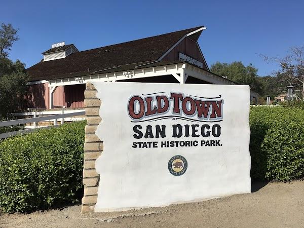 Popular tourist site Old Town San Diego State Historic Park in San Diego