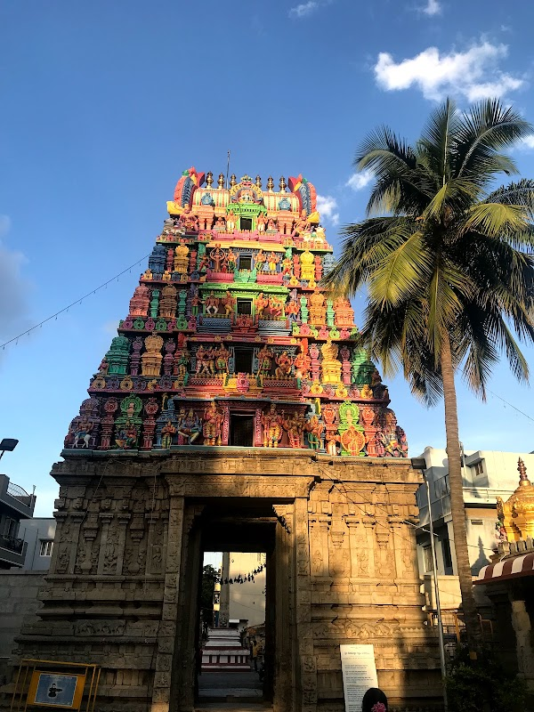 Popular tourist site Sri Someshwara Swamy Temple in Bengaluru