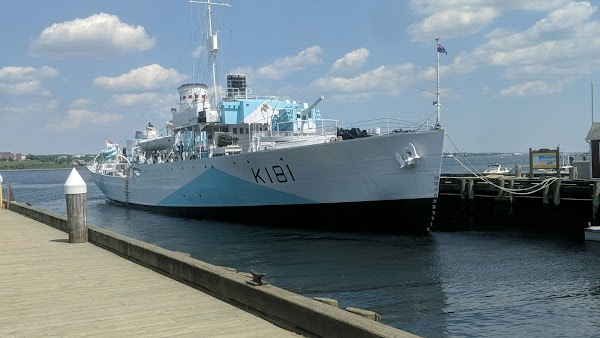Popular tourist site HMCS Sackville in Halifax