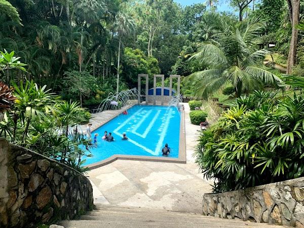 Popular tourist site City Park in Penang