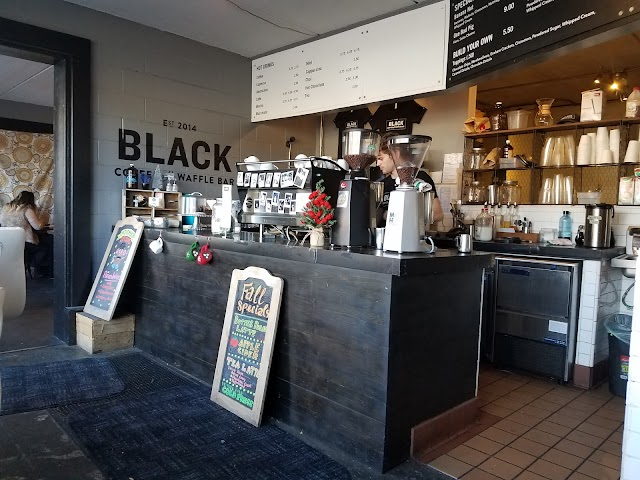 Black Coffee and Waffle Bar