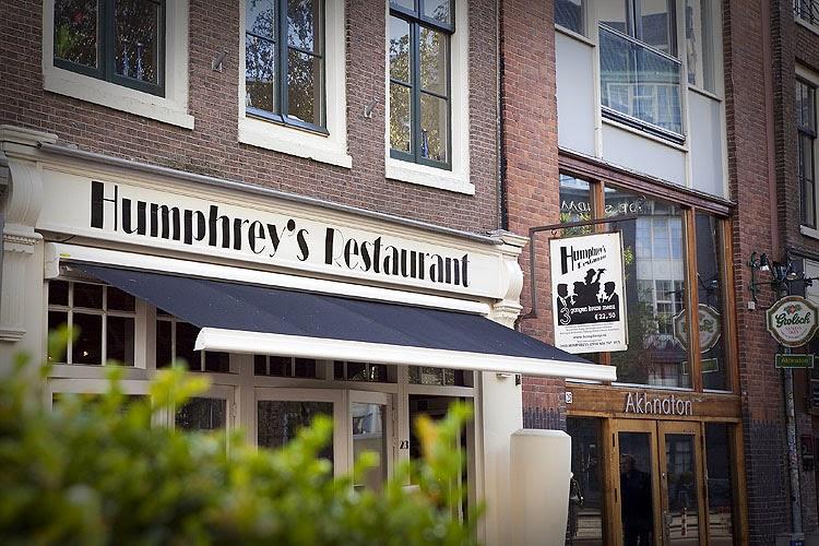 Humphrey's Restaurant Amsterdam Nieuwezijds Kolk Amsterdam