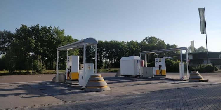 Shell Truck Diesel Terschuur