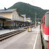 Железнодорожная станция  Bad Ischl Bahnhof