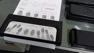 Authorised - Fingerprinting Services of Australia. Ink rolled impressions