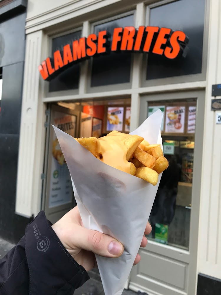 Vlaamse Frites Snackland Amsterdam