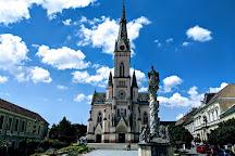 Jezus szive templom (Herz-Jesu-Pfarrkirche), Koszeg, Hungary
