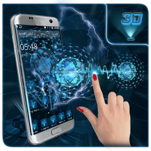 3D Next 2 Tech Neon app (apk) free download for Android/PC/Windows