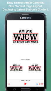 AM910 WJCW- screenshot thumbnail
