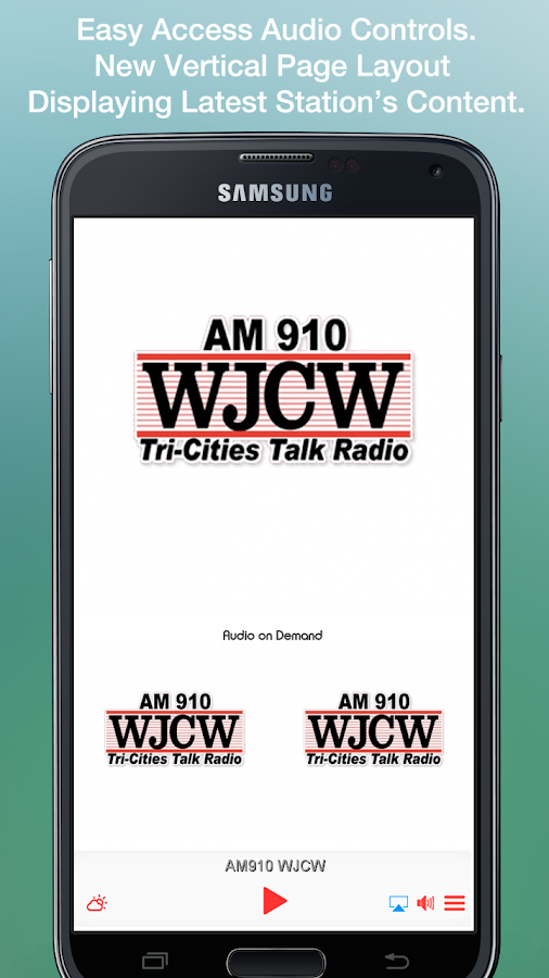 AM910 WJCW- screenshot