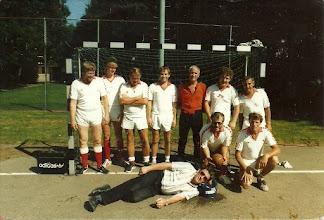 Photo: Gelegenheidsteam H.M.S.H. 1993 toernooi H.E.C.