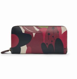Wild Floral Clutch Wallet