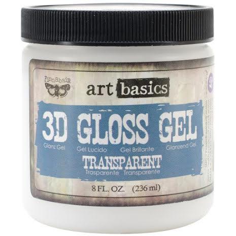 Prima Finnabair Art Basics 3D Gloss Gel 236ml - Transparent