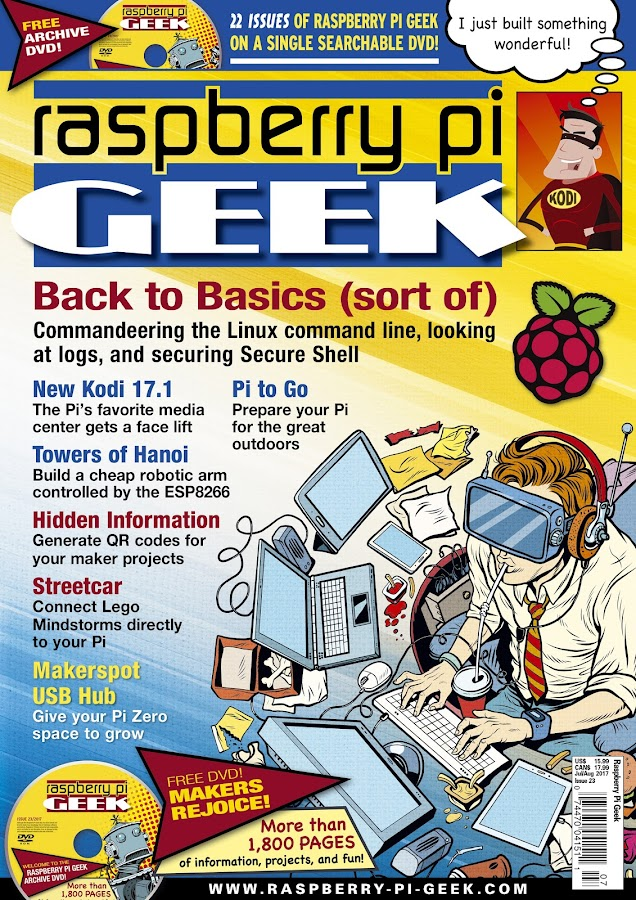 Raspberry Pi Geek (US)- screenshot