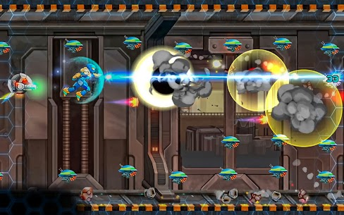 Space Army – Jetpack Arcade Mod Apk 1.0 (Unlimited Currency) 7