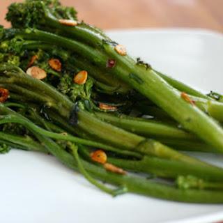 Broccolini with Garlic.